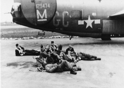 41-29474 Crew laying in front