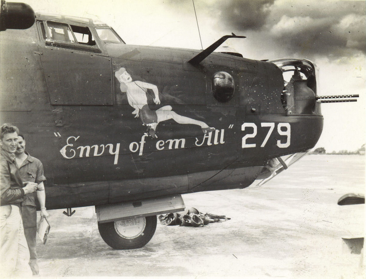 B-24 Aircraft Listings of WWII