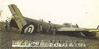 41-29135 crash on 20 Dec43