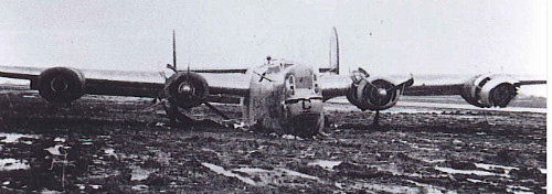 after crash 10 Jan 45