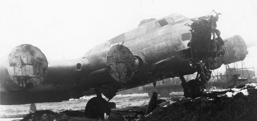 salvage 24 Jan 45 B17