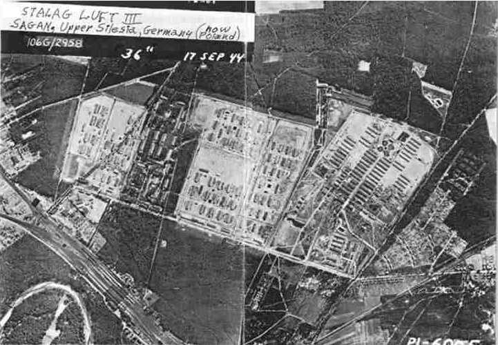 Great Escape at Stalag Luft 3 during WWII