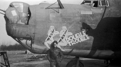 Double Trouble Nose Art