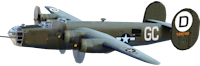 B-24 Airplane Image